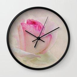 the wedding rose Wall Clock