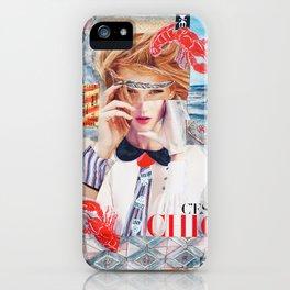 C'est chic iPhone Case