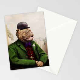 Remy Rottweiler Amid the Ancient Ruins Stationery Cards