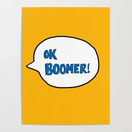Ok Boomer! Poster