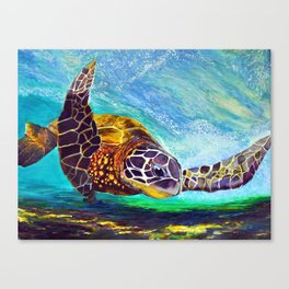 For the love of Michael Angelo Canvas Print