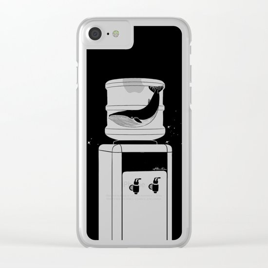 Thirst for Freedom Clear iPhone Case
