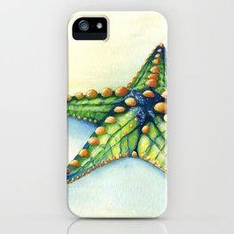 Horned Sea Star iPhone Case