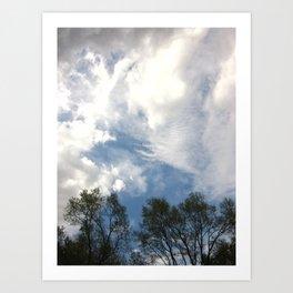 Carnivals Of Clouds Art Print