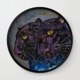 Black Panthers Wall Clock