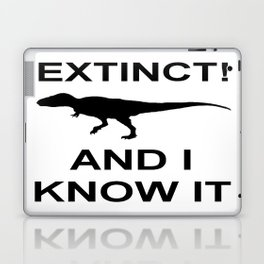 Extinct T-Rex Laptop & iPad Skin