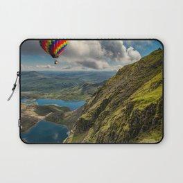 Snowdon Hot Air Balloon Laptop Sleeve