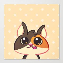 Curious Kitty Cat Canvas Print