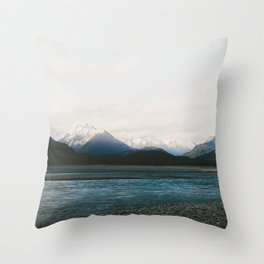 Mt Aspiring National Park Throw Pillow