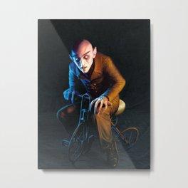 Nosferatu On A Tricycle Metal Print