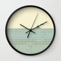 sailboat Wall Clocks featuring SailBoat by Jeremy Lobdell