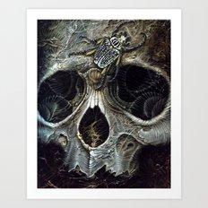 goliath skull Art Print