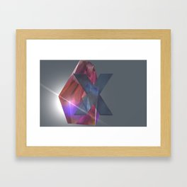 CrystXl Framed Art Print