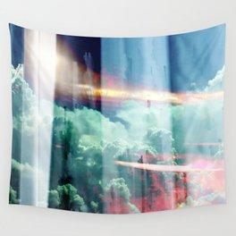 glitch cloud 8. Wall Tapestry