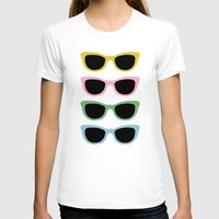sunglasses T-shirts featuring Sunglasses #4 by Project M