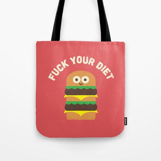 Discounting Calories Tote Bag