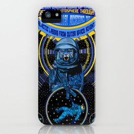 Galactic Lasers From Outer Space Adventure iPhone Case