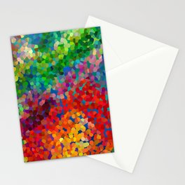 Color Theory Clash Stationery Cards