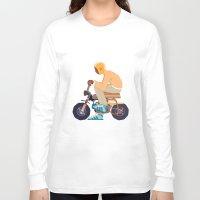 honda Long Sleeve T-shirts featuring #2 HONDA Z50 by Brownjames Prints