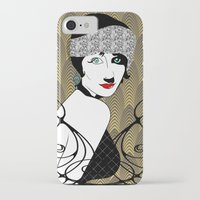 gatsby iPhone & iPod Cases featuring Gatsby style by david_draft