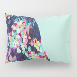Where it All Begins - Abstract landscape by Jen Sievers Pillow Sham