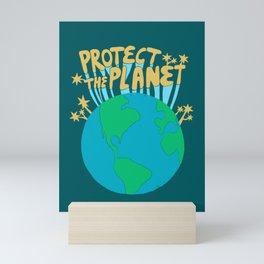 PROTECT THE PLANET Mini Art Print