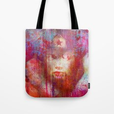 wonder abstract woman Tote Bag