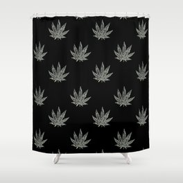 Sweet Leaf Blacklight 2 Shower Curtain