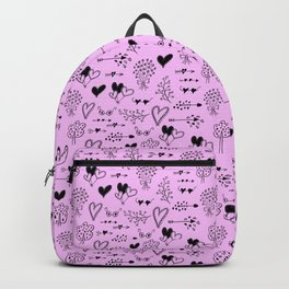 Hearts - Valentine's Day pattern Backpack