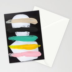 Untitled (Finger Paint 1) Stationery Cards