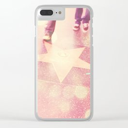 Hollywood Los Angeles photograph. Star Gazing. Clear iPhone Case
