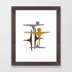 MCM Frarndt Framed Art Print