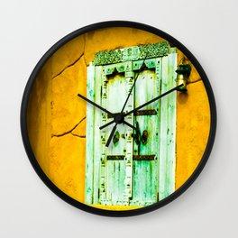 Door to my soul Wall Clock