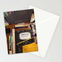 Back to school fun Stationery Cards
