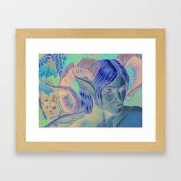 Autumn King Framed Art Print
