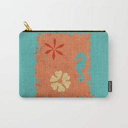 coral sea seahorse Carry-All Pouch