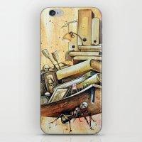 school iPhone & iPod Skins featuring school by Andreas Derebucha