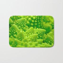 Macro Romanesco Broccoli Bath Mat