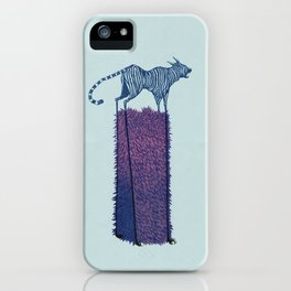 Forgive me, Tigress. iPhone Case
