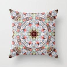 Space Mandala no5 Throw Pillow