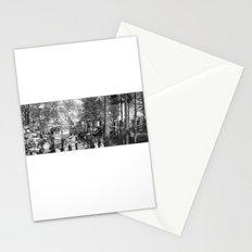 Watson Lake Black and White Stationery Cards