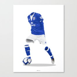 Everton 2009/10  Canvas Print