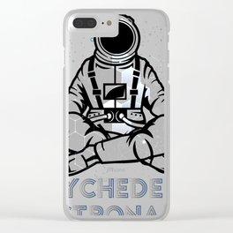 Space Astronaut Psychonaut DMT Gift Design design Clear iPhone Case