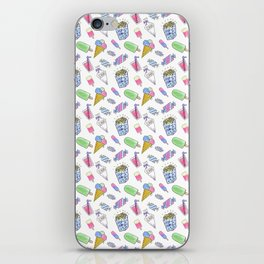 Birthday party candy art iPhone Skin
