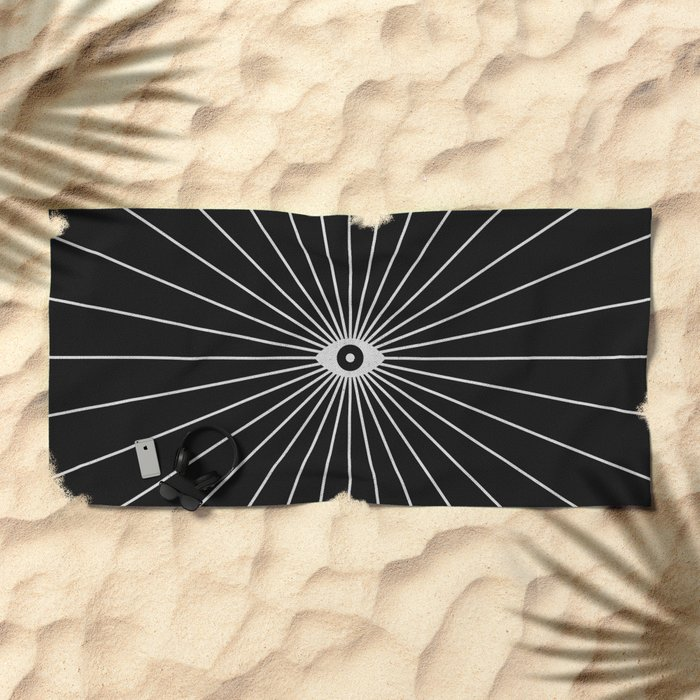 Big Brother (Inverted) Beach Towel
