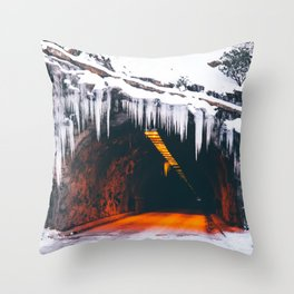 Wawona Tunnel Throw Pillow