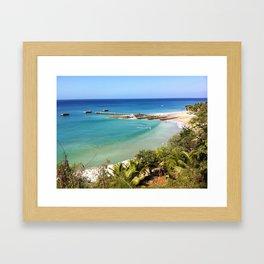 CRASHBOAT Framed Art Print