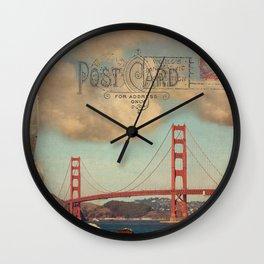 GROUND CONTROL - San Francisco Wall Clock