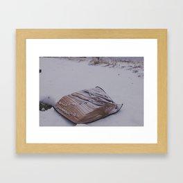 The Word Framed Art Print