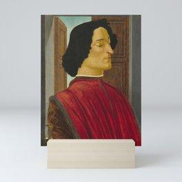 Sandro Botticelli - Portrait of Giuliano de' Medici Mini Art Print
